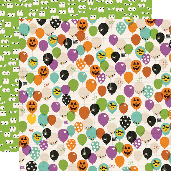 Papel con Diseño Doble Cara 12x12 - Faboolous - Say Cheese Halloween - Simple Stories