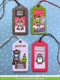 Lawn Fawn - Say What? Gift Tag - Troqueles