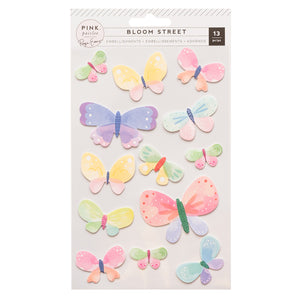 Sticker de Mariposas 3D - Bloom Street - Paige Evans