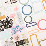 Stickers - Old School - Heidi Swapp