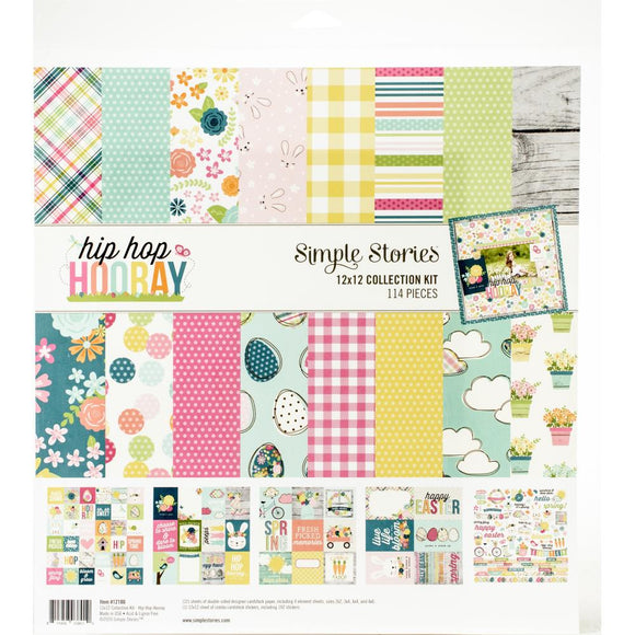 12x12 Collection Kit - Hip Hip Hooray