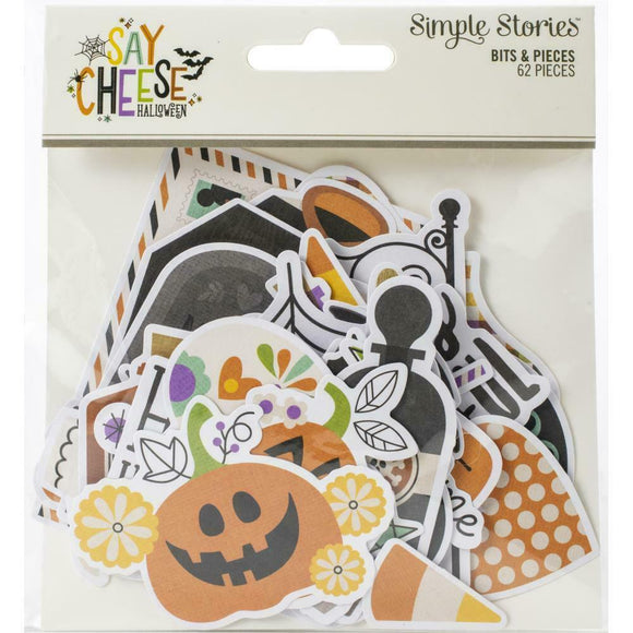 Ephemera Bits & Pieces - Say Cheese Halloween - Simple Stories