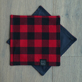 EDC Crate Hanky - Red Buffalo