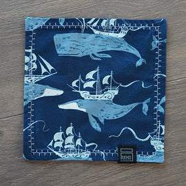 EDC Crate Hanky - Blue Whale