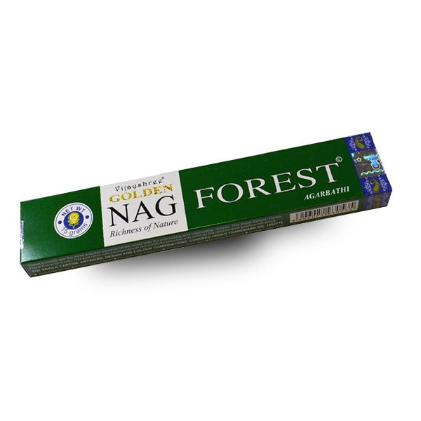 Golden Nag Forest Wierook (15 gram)
