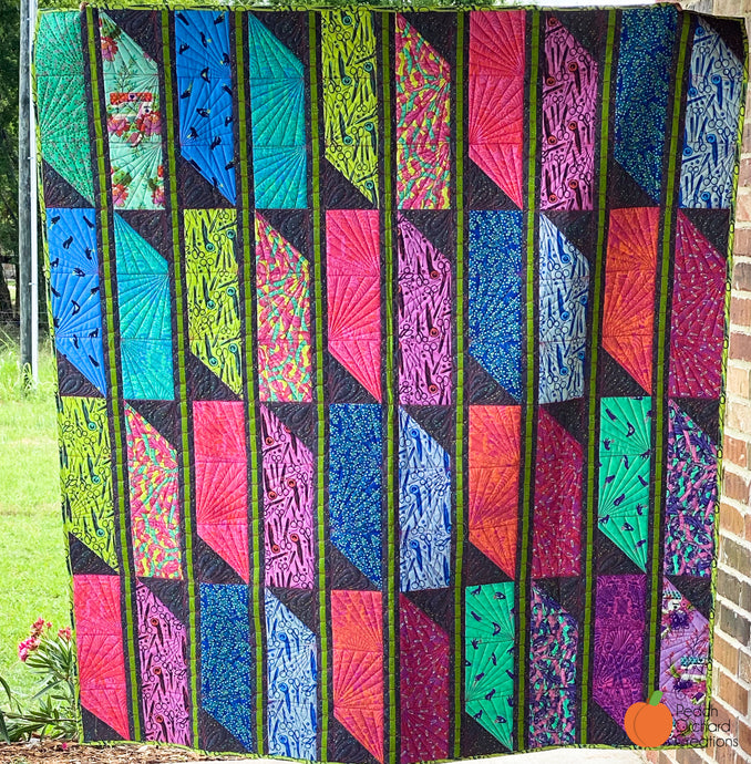 Striped Jewel Quilt - Tula Pink's Homemade