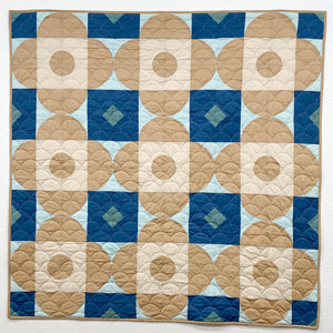 Woven Petals PDF Quilt Pattern - Digital Download