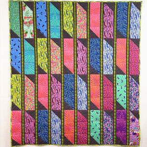 Striped Jewel PDF Quilt Pattern - Digital Download