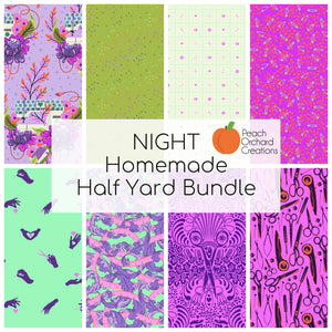 Night -  Homemade - Half Yard Bundle