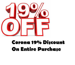 Corona 19% Discount on Entire Purchase Adult Toys and Exotic Dancewear!