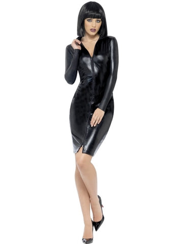 Fever Miss Whiplash Pencil Dress - Medium FV-43836M
