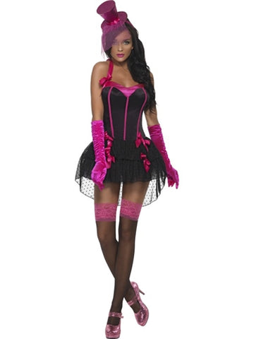 Fever Bow Burlesque Costume - Extra Small FV-20047XS