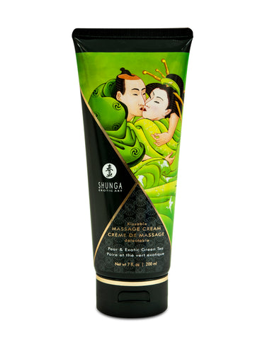 Kissable Massage Cream - Pear & Exotic Green Tea  - 7 Fl. Oz. / 200 ml SHU4111
