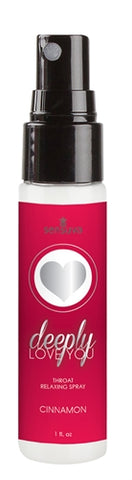 Deeply Love You Throat Relaxing Spray 1oz - Cinnamon Roll SEN-VL493