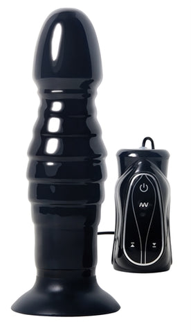 Adam and Eve Thrusting Anal Vibe - Black AE-DQ-6444-2