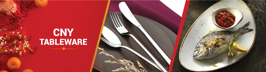 CNY Tableware, Cutlery & Chopsticks