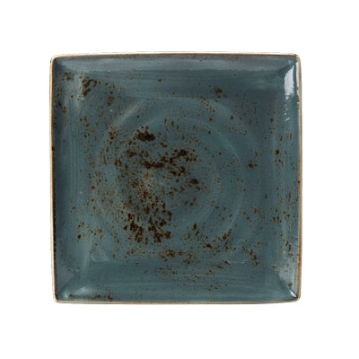 Steelite Craft Square Plate, Blue