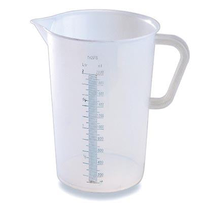 Translucent PP Measuring Cup With Handle