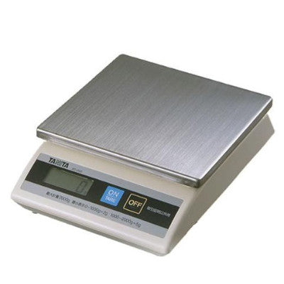 Tanita KD200 Digital Weighing Scale With Stainless Steel Base, 1kg/1gr