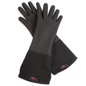 Bonzer RED Cookware Black Silicone Gloves