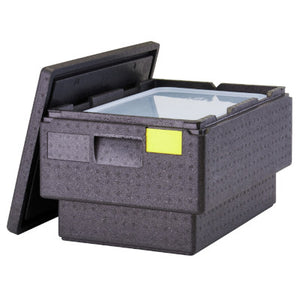 Cambro Cam GoBox EPP180S Insulated Food Pan Carrier, Inter-Stacking Top Loader For GN 1/1 Pan