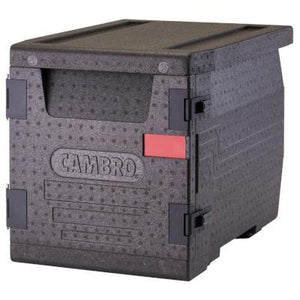 Cambro Cam GoBox EPP300 Insulated Food Pan Carrier, Front Loader For GN 1/1 Pan