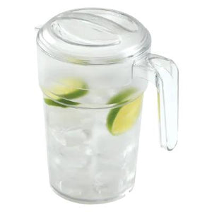 Cambro Camview Stackable Polycarbonate Water Pitcher, With Lid