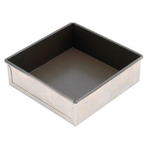 San Neng Aluminium Non-Stick Square Cake Pan, Fixed Base