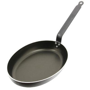 De Buyer CHOC Aluminium Non-Stick Oval Fish Fry Pan