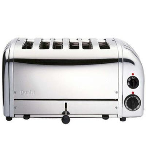 Dualit Vario Toaster, 6 Slots, Stainless Steel Casing