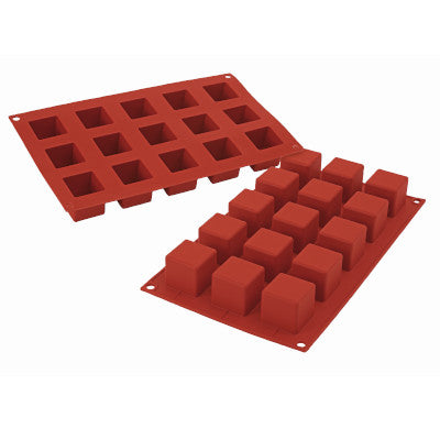Silikomart Classic SF105 Small Cube Silicone Mould