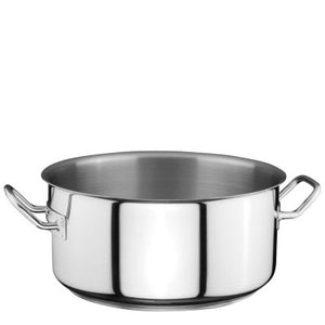 Ozti Stainless Steel Casserole Pot Without Lid