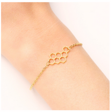 Load image into Gallery viewer, Honeycomb Bracelet