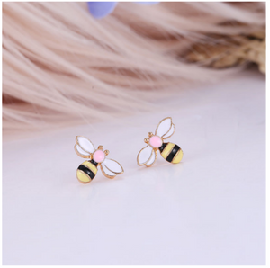 Wild Bee Stud Earrings