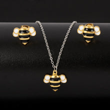 Load image into Gallery viewer, *Limited Edition* Save a Bee Necklace + Earrings