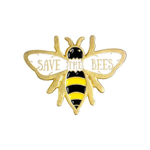 Save The Bees Pin