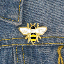 Load image into Gallery viewer, Save The Bees Pin