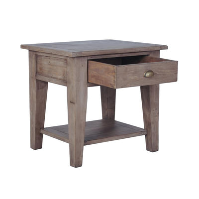 Irish Coast Large End Table, Sundried