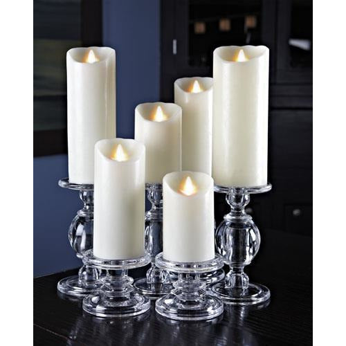Reallite 3x9 Ivory Flameless Candle