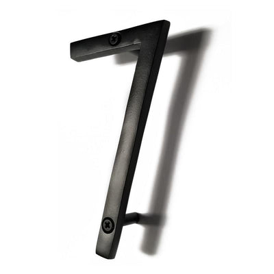 "House Number ""7"" - Black"