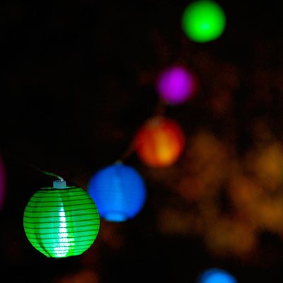 Allsop Home & Garden Soji Solar String Lights - Tropical Fruit
