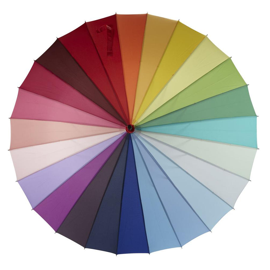Colour Wheel Slat Umbrella
