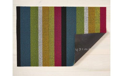 Chilewich Indoor/Outdoor Tufted Shag Mat  Bold Stripe Multi