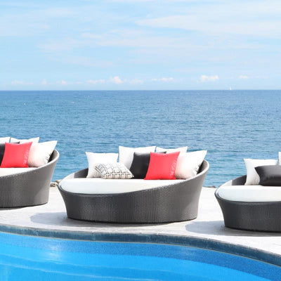 Chorus Outdoor Round Daybed