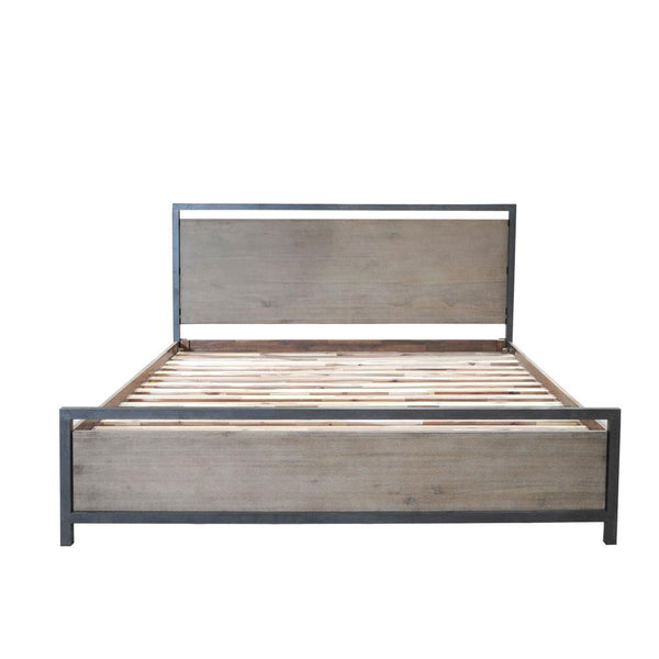 Moss Reclaimed Irondale Queen Bed
