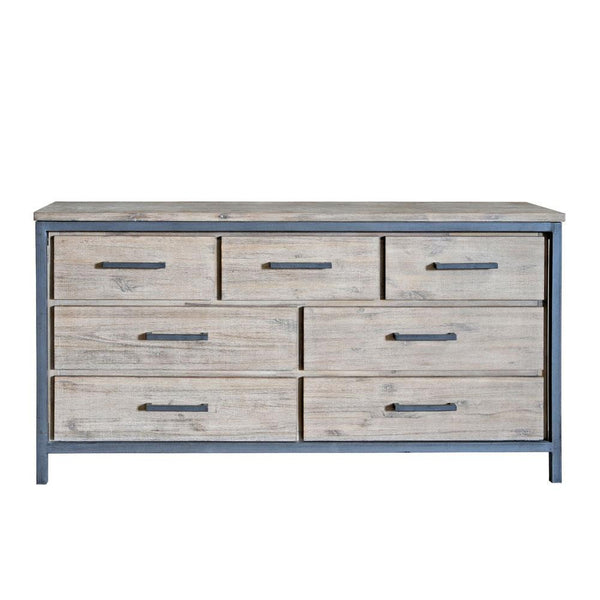 Moss Reclaimed Irondale 7 Drawer Dresser