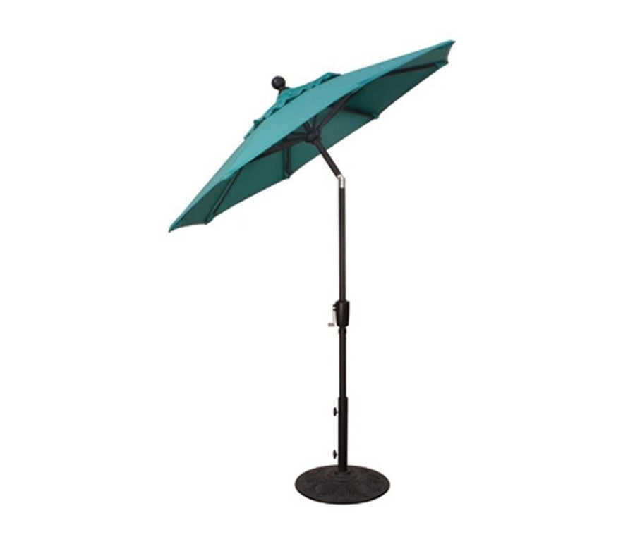 6' Round Button Tilt Patio Umbrella
