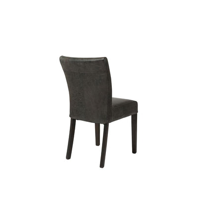 Marlow Dining Chair - Black Leather