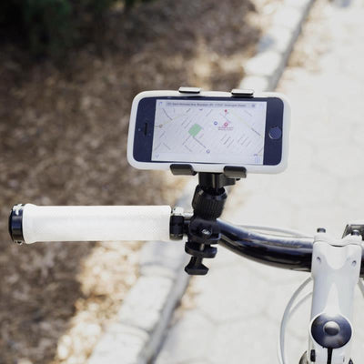 Kikkerland Black Bike Phone Holder