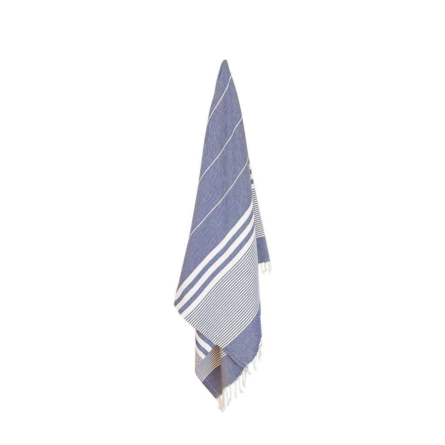 Pokoloko Harem Turkish Towel, Denim